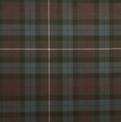 Fraser Hunting Weathered Light Weight Tartan Fabric
