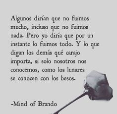 Mind of Brando : Foto Sad Love, Funny Love, Book Quotes, Life Quotes, Pretty Quotes, Spanish Quotes, Quote Posters, Some Words, Decir No