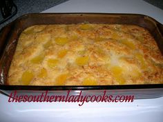 EASY FRUIT COBBLER RECIPE. Making this right now but instead of pie filling I used a can of peaches.