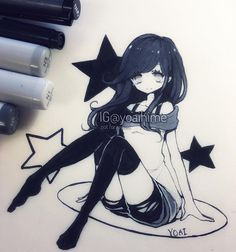 decided to use some grey copics because I feel like I've been neglecting them ;-; yay crooked stars... (´・Д・) -----------MATERIALS LIST: #tombow #brushpen #copic #multiliner #copicmarkers #bienfangpaper ------------- #copicart #illustration #instaart #instadraw #instaanime #instamanga #anime #manga #mangaart #mangagirl #mangastyle #animeart #animegirl #animestyle #kawaii #cute #moe #oc ----------- •Artwork (c) yoaihime •All Rights Reserved• Commercial use, re-uploading…