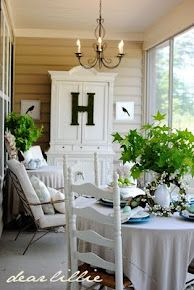 screened porch ... So lovely