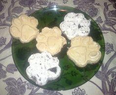 paw print ice cream cookies!