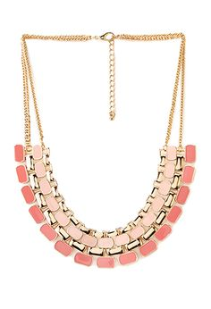 Street-Chic Lacquered Bib Necklace | FOREVER21 - 1000090136