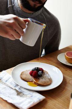 Chia Seed & Chestnut Pancakes | Julia Gartland