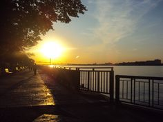 Sunset on the Riverfront - Windsor, ON Windsor Ontario, Sunrises, Places To See, Detroit, Bliss, Michigan, Bucket, Roses, United States