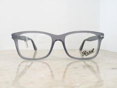 #Persol translucent cloudy gray #square #hipster glasses frames