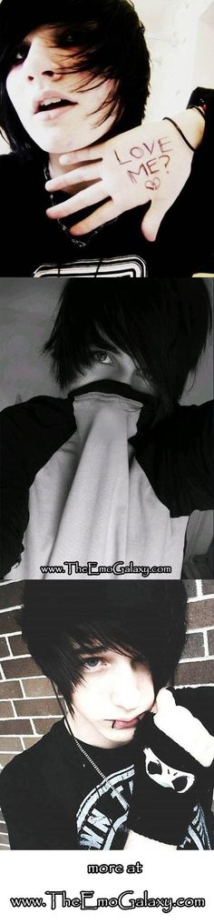 will probably never leave this website... <3 my life has absolutely no EMO GUYS!