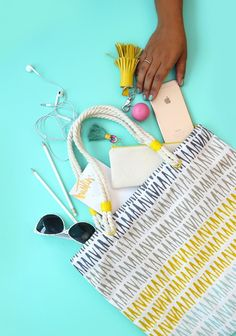 16 DIY Sewing Projects to Help Organize Your Life via Brit + Co