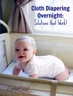Overnight Solutions for Cloth Diapering