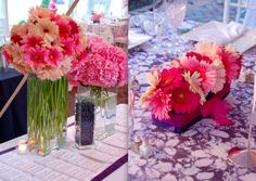 Pink and blue wedding at the Decatur House in Washington, DC - photography by Documentary Associates