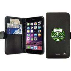 Portland Timbers Emblem Design on Apple iPhone 6 Plus Wallet Case by Coveroo