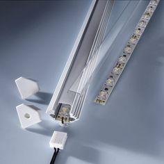 High Performance Led Lighting Ledrise - High performance lighting solutions with Nichia LEDs. Lighting Solutions, Shop Lighting, Led Strip, Door Handles, Profile, Bright, Door Knobs, User Profile, Door Knob