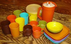 Tupperware...no kitchen was complete without it.