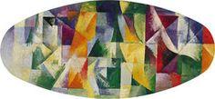 Fenêtres ouvertes simultanément 1ère partie, 3ème Motif - (Robert Delaunay)