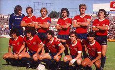 Independiente de Avellaneda Campeón del Campeonato de Primera División 1983 National League, Competition, Club, Football, Soccer Teams, Soccer, Football Equipment, Champs, Falling Down