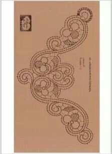 Aplicacion Point Lace, Lace Patterns, Antique Lace, Bobbin Lace, Irish Crochet, Beads, Antiques, Rococo, Hui