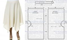 68 New Ideas Skirt Pattern Sewing Skirt Patterns Sewing, Sewing Patterns Free, Free Sewing, Clothing Patterns, Skirt Sewing, Pattern Sewing, Coat Patterns, Pattern Drafting, Blouse Patterns