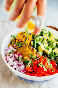 This lentil tuna salad combines beluga lentils with canned tuna, fresh veggies and a turmeric dressing. It's absolutely delicious and perfect for sharing at summer cookouts and parties.
