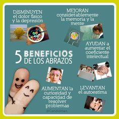 5 beneficios de los #abrazos