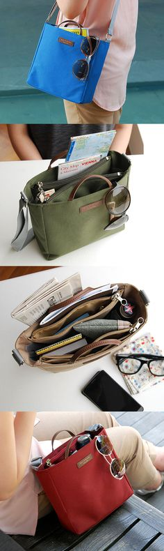 A cute and functional daily bag is here! With various pockets and perfect size to store your daily essentials, All-in-One Bag will help you be prepared for a day.