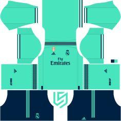 Real Madrid kits For Dream League Soccer 2019 - RisTechy Barcelona Football Kit, Barcelona Soccer, Fc Barcelona, Real Madrid Home Kit, Real Madrid Goal, Soccer Kits, Football Kits, Real Madrid Manchester United, Cristiano Ronaldo Lionel Messi