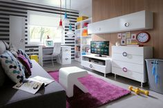 Ringo - Black Red White #youthroom #childsroom #inspiration #youth #child #ideas #decorations #bedroom