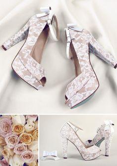 Sapato de noiva da Patricia Bronstein by Carmen Steffens no Super Vaidosa