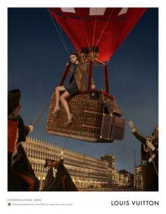 """BETC pour Louis Vuitton - maroquinerie, """"Invitation au voyage, Venise, avec David Bowie et Arizona Muse"""" - novembre 2013"""