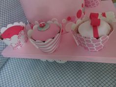 Birthday Cake - Vanilla cupcakes.