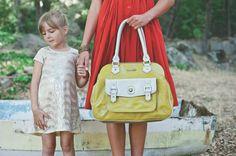 timi & leslie Sophia Convertible Diaper Satchel TL-231-01YL   Luggage Pros