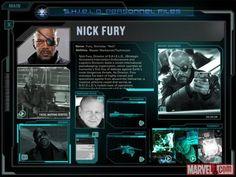 SHIELD Personnel Files - Nick Fury