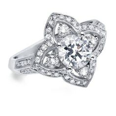 Engagement Ring by Arte Bella Jewelry