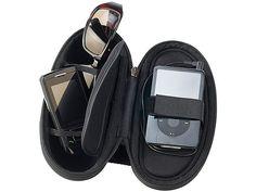 Q Sonic Fahrrad MP3 Tasche mit Aktiv Lautsprecher