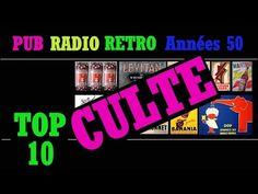 PUB RADIO RÉTRO ANNÉES 50 TOP 10 RÉCLAMES RADIOPHONIQUES CULTES - YouTube Radios, Pub Radio, Worship, Bonheur