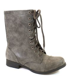 Love this Gray Relax Boot on #zulily! #zulilyfinds
