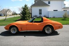 1977 Corvette, My Other Orange Vol Car!