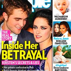 ON NEWSSTANDS 8/3/12: Inside Kristen Stewart's betrayal of Robert Pattinson. Plus: the Jackson family feud and more