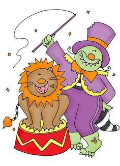 deariedolls.quenalbertini: Circus Lion Tamming Beast | Free Dearie Dolls Digi Stamps