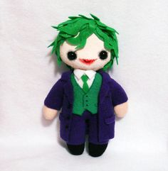 Even a psychopath can look adorable in plush doll form. I'd like a Cillian Murphy Scarecrow one, plzkthnx.