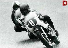 1972 R1 西ドイツ・ニュルブルクリンク  サーリネンをリードする金谷秀夫  Yamaha Road Racing