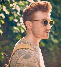 Ideas Glasses Frames Red Hair Ray Ban Sunglasses For 2019 Ginger Men, Ginger Hair, Ginger Snaps, Easy Hairstyles, Girl Hairstyles, Redhead Men, Hair Romance, Elegant Bridal Shower, Pompadour