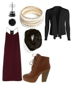 """""""Fall outfit"""" by makhennaj on Polyvore featuring TIBI, BERRICLE, ZooShoo, La Fiorentina, women's clothing, women's fashion, women, female, woman and misses"""