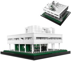 LEGO Architecture Villa Savoye - Christmas is coming!
