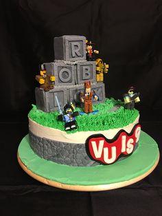 9th Birthday cake - Roblox birthday cake