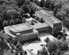 Jewett Arts Center, Wellesley College (1956-58) | Paul Rudolph