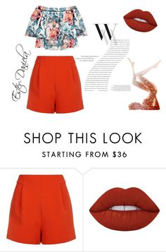 """completo 53"" by ester-daniela on Polyvore featuring moda, Balenciaga, Finders Keepers, Lime Crime e Elizabeth and James"