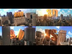 Reveal Golden Title In City | After Effects template