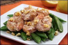My honey walnut shrimp's better than YOUR honey walnut shrimp... Why? It has 208 calories!!!