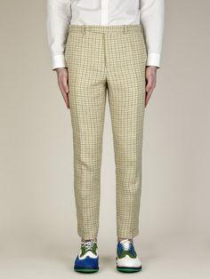 Carven Men's Checked Trousers   oki-ni