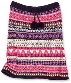 Fair Isle Sweater Skirt